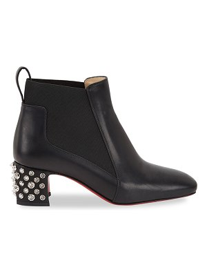Christian Louboutin study studded leather chelsea boots