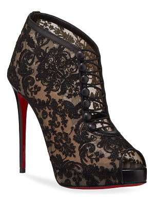 Christian Louboutin Top Top Red Sole Booties