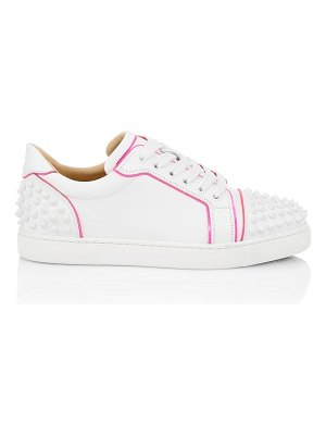 Christian Louboutin vieira spiked leather sneakers