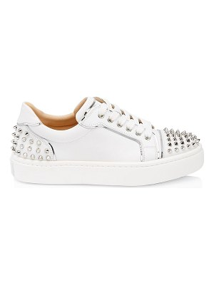 Christian Louboutin vieira stud leather low-top sneakers