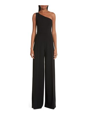 Christian Siriano one-shoulder jumpsuit