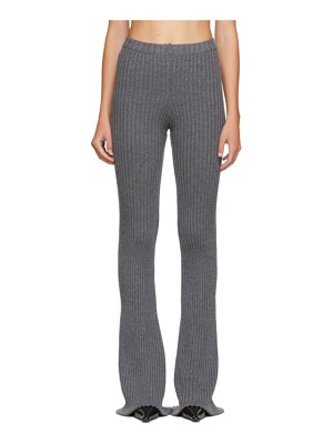 Christina Seewald ssense exclusive  rib knit lounge pants