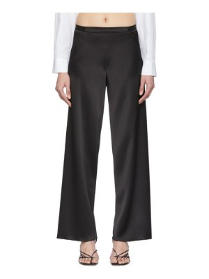 Christopher Esber bias satin trousers