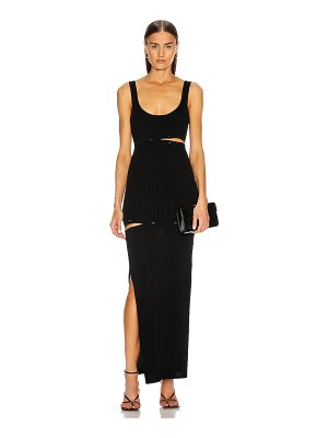 Christopher Esber deconstruct tank dress