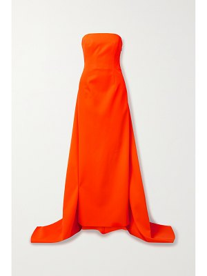 Christopher John Rogers strapless twill gown
