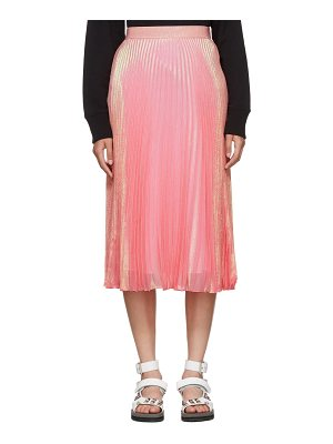Christopher Kane Brillo Pad Pleated Skirt