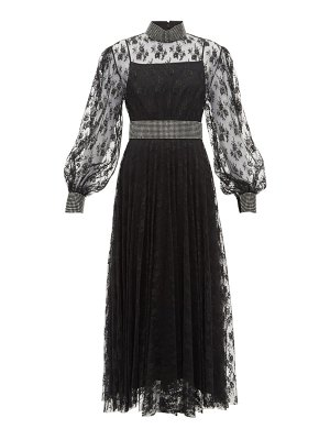 Christopher Kane crystal embellished floral lace dress