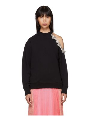 Christopher Kane Dna Crystal Cut-out Sweatshirt