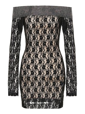 Christopher Kane Embellished lace minidress