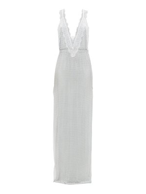 Christopher Kane lace-trimmed chainmail gown