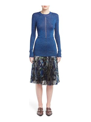 Christopher Kane metallic knit sweater