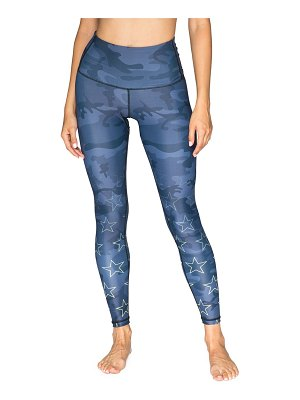 CHRLDR Camo & Star-Print High-Rise Leggings