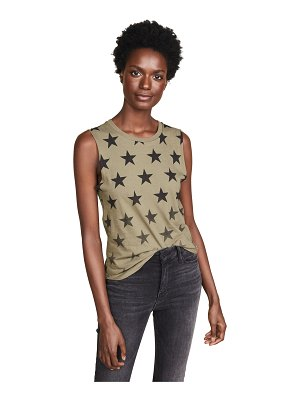 CHRLDR faded stars muscle tee