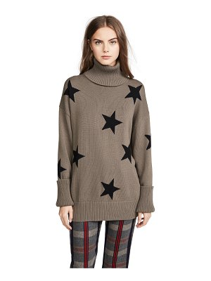 CHRLDR falling stars turtleneck sweater