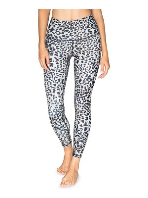 CHRLDR High-Rise Leopard-Print Leggings