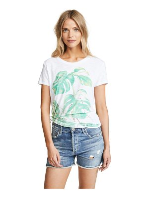 CHRLDR monstera slub tee