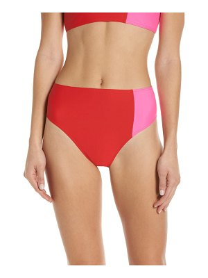CHROMAT lindsey duotone high waist bikini bottoms