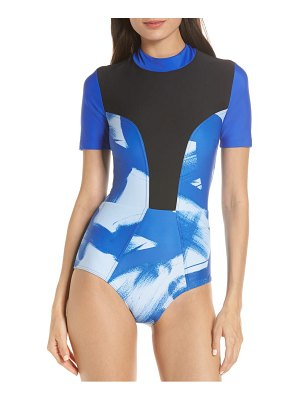 CHROMAT tidal iii back zip one-piece swimsuit