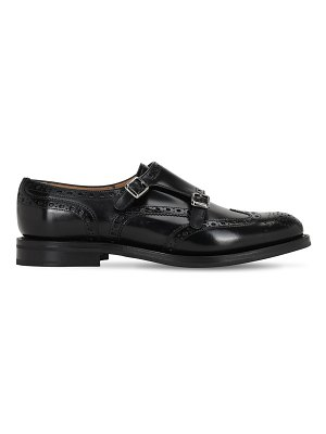 CHURCH'S 20mm lana leather shoes