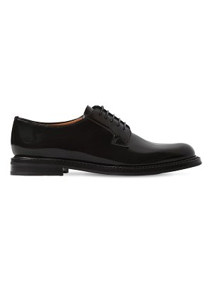 CHURCH'S 25mm shannon brushed leather shoes