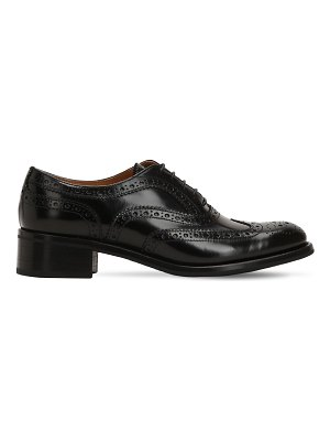 CHURCH'S 35mm catherine brogue leather shoes