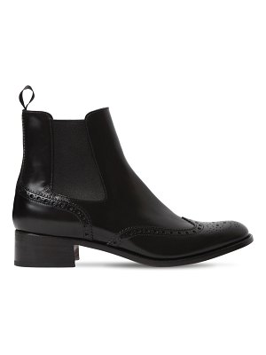 CHURCH'S 35mm estella brogue leather ankle boots
