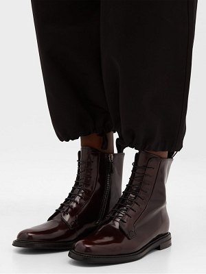 CHURCH'S alexandra patent leather boots