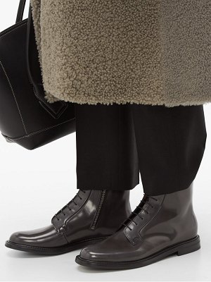 CHURCH'S alexandra patent-leather boots