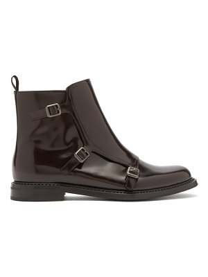 CHURCH'S Amelia Polished Leather Ankle Boots