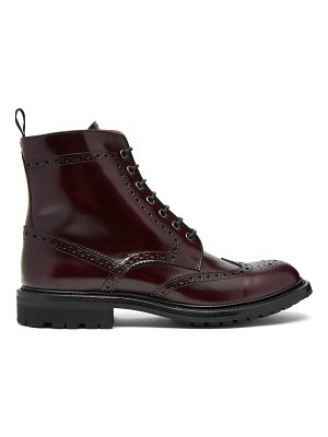 CHURCH'S Angelina 2 Rois burnished-leather ankle boots