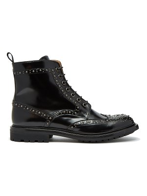 CHURCH'S Angelina Met 2 stud-embellished ankle boots