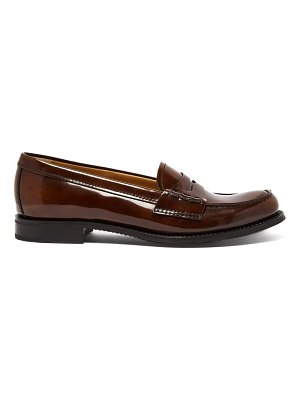 CHURCH'S Annie Polished Leather Loafers