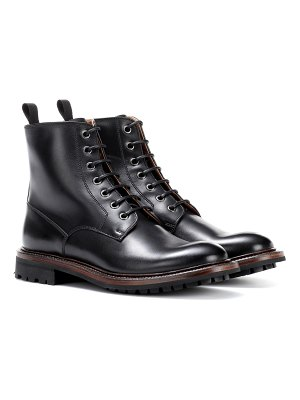 CHURCH'S Antic leather ankle boots