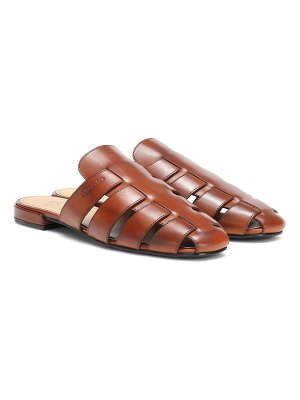 CHURCH'S Becky leather slippers