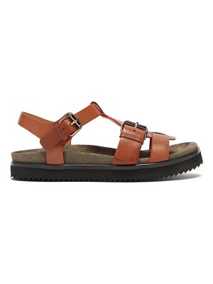 CHURCH'S britney buckle-strap leather sandals