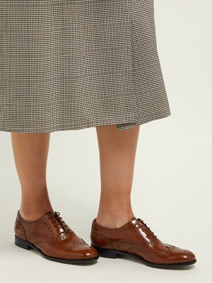 CHURCH'S burwood perforated leather brogues