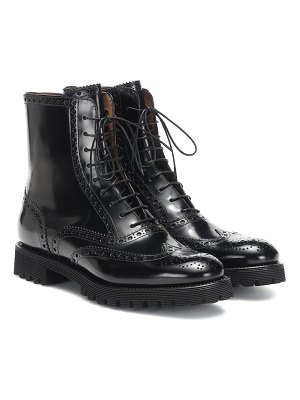 CHURCH'S cammy glossed leather ankle boots