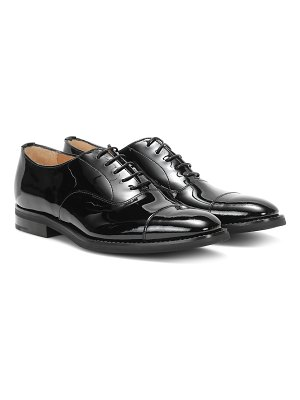 CHURCH'S consul patent leather oxford shoes