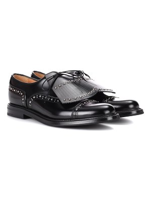 CHURCH'S regine leather oxford shoes