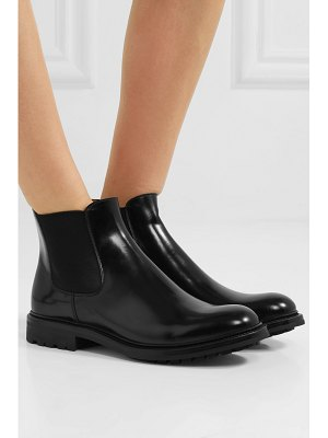 CHURCH'S genie glossed-leather chelsea boots