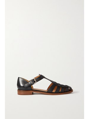 CHURCH'S kelsey woven leather sandals