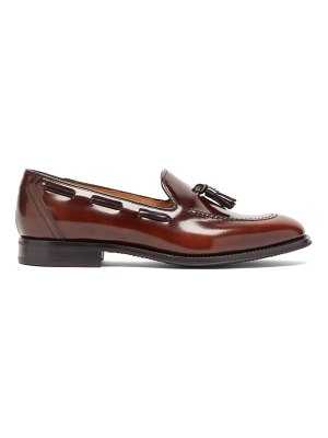 CHURCH'S kingsley tasselled leather loafers