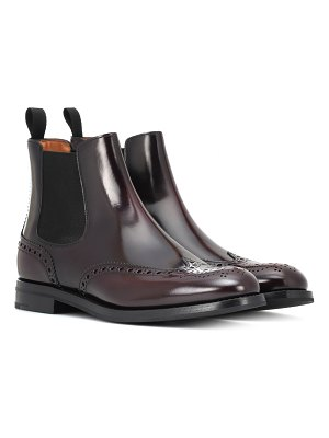 CHURCH'S Monmouth leather Chelsea boots