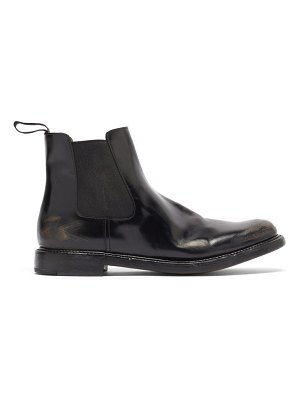 CHURCH'S nirah distressed-leather chelsea boots