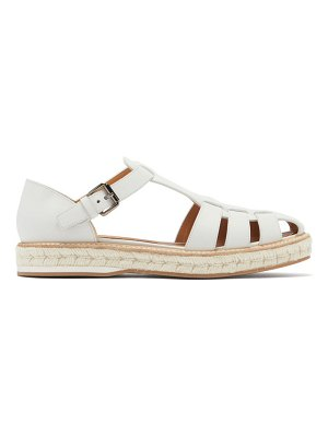 CHURCH'S rosemary leather espadrille sandals