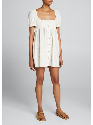 Ciao Lucia Diana Button-Front Dress
