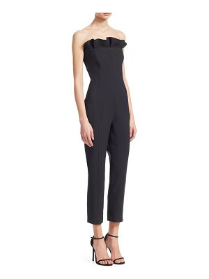 Cinq a Sept alicia strapless ruffle jumpsuit