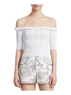 Cinq a Sept amalia off-the-shoulder top