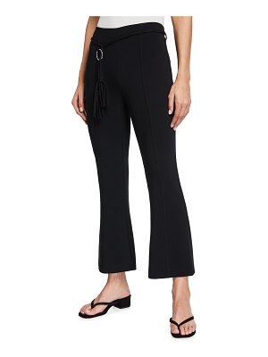 Cinq a Sept Avril Belted Flare Pants