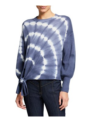 Cinq a Sept Clerisa Tie-Dye Pullover Sweater